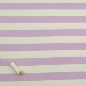 Wide Lilac Stripe Jersey