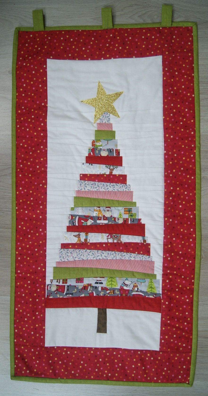 Christmas Tree Wall Hanging Table Runner Saturday 30th November Nimble Thimbles